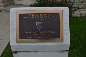 Ypsilanti Water Tower Michigan Civil Engineering