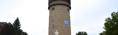Michigan Roadside Attractions: Ypsilanti Water Tower