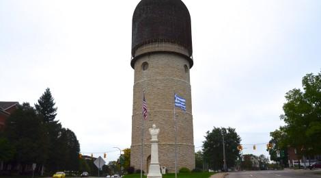 Michigan Roadside Attractions: Ypsilanti Water Tower