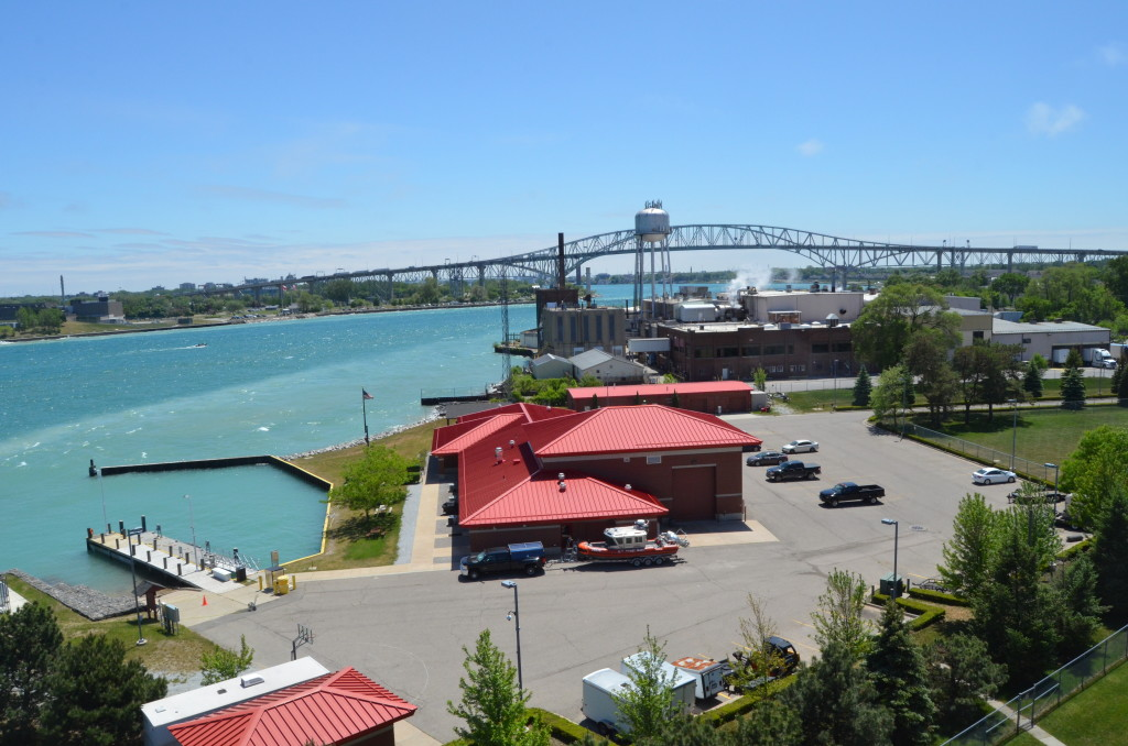 View from Fort Gratiot Lighthouse tower