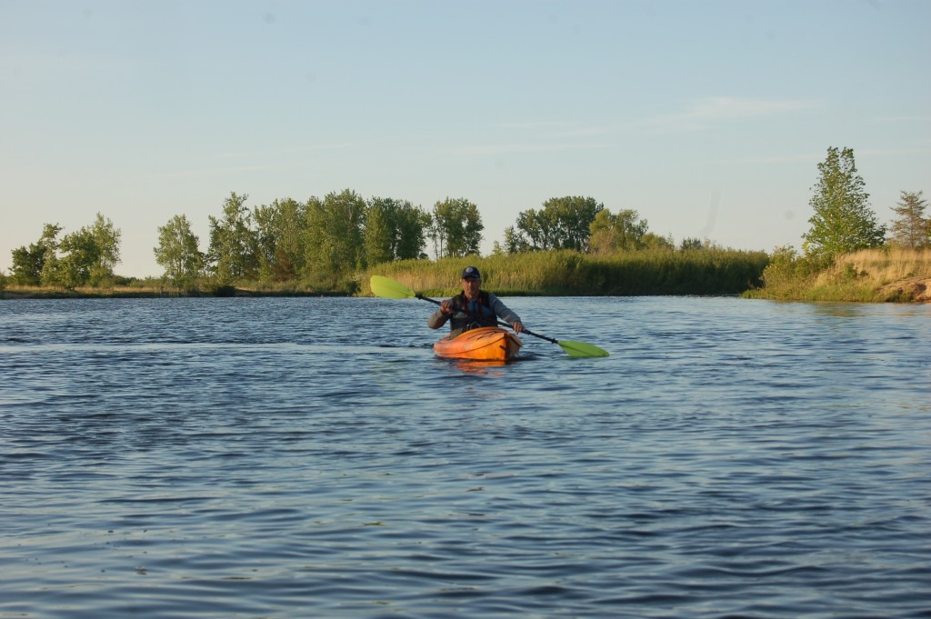 Kayaking the Pinnebog River, Port Crescent State Park