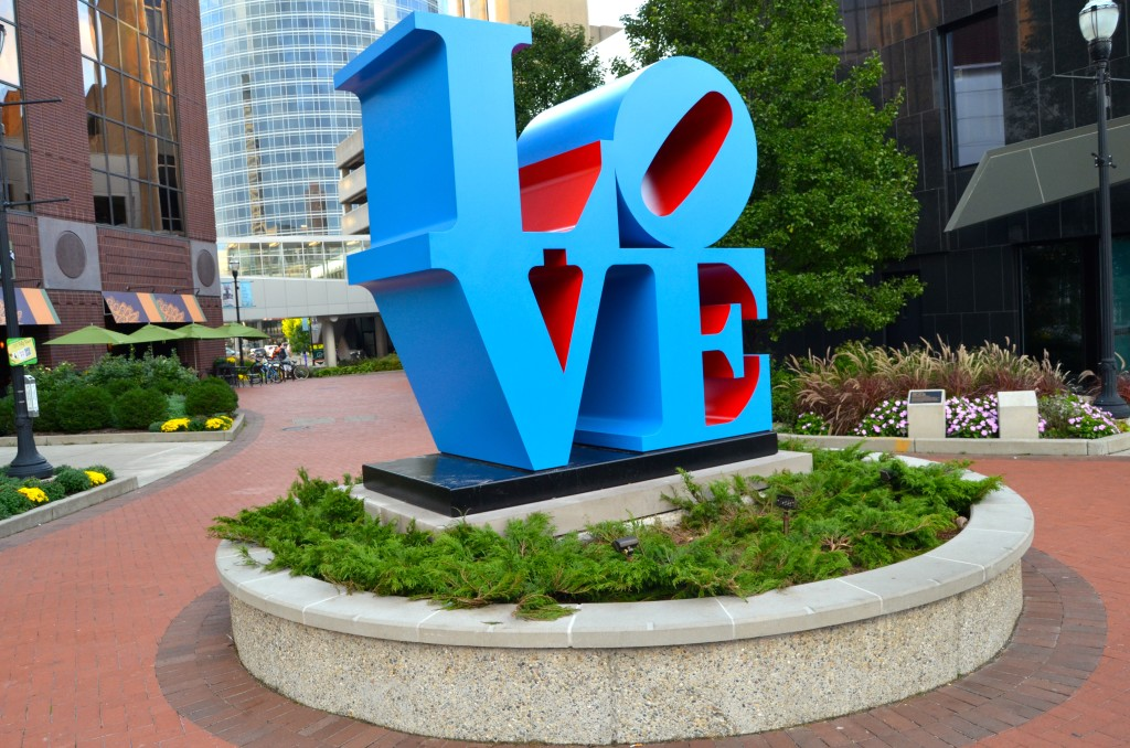 2018 Michigan Best Photos LOVE Sculpture Grand Rapids