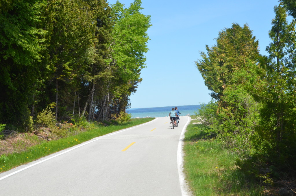 Bicycling Mackinac Island