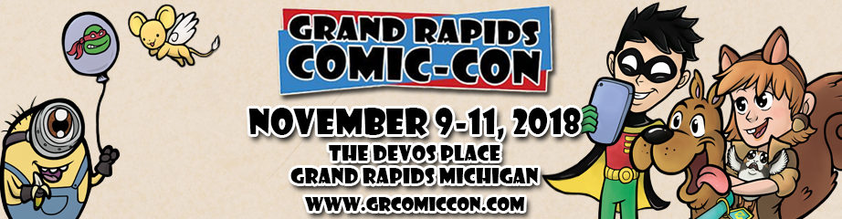 Grand Rapids Comic Con 2018 Logo