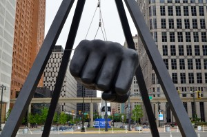 Joe Louis Fist Detroit Michigan