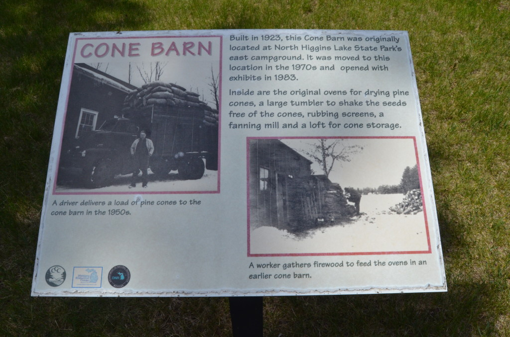 Michigan Civilian Conservation Corps Museum Cone Barn Information