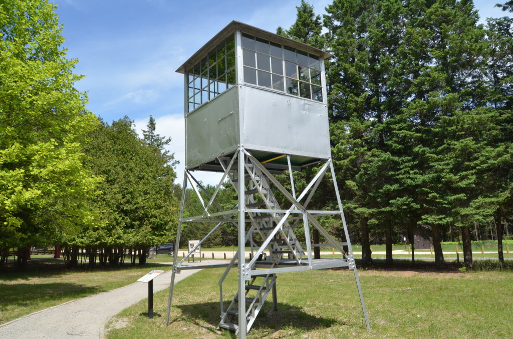Michigan Civilian Conservation Corps Museum Hale Fire Tower