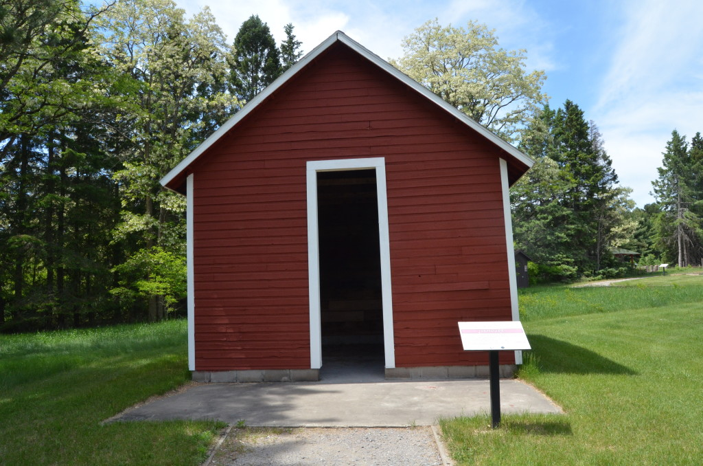 Michigan Civilian Conservation Corps Museum Ice House