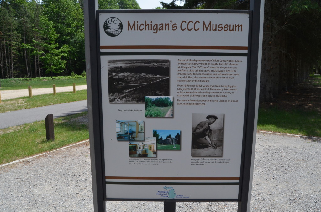 Michigan Civilian Conservation Corps Museum North Higgins Lake