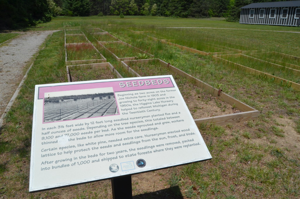 Michigan Civilian Conservation Corps Museum Seed Bed Garden
