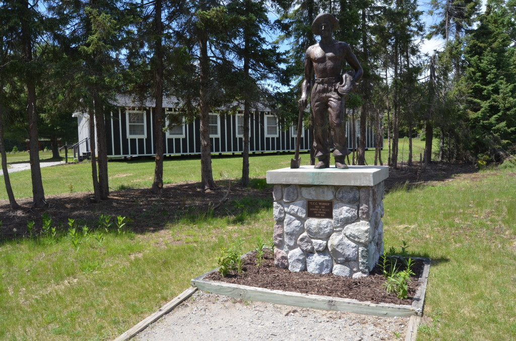 Michigan Civilian Conservation Corps Museum Statue
