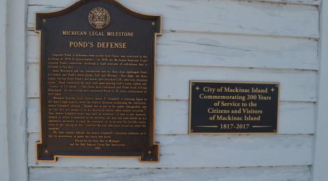 Michigan Legal Milestones - 40 Historical Sites