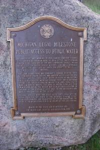Michigan Legal Milestones Public Access Water