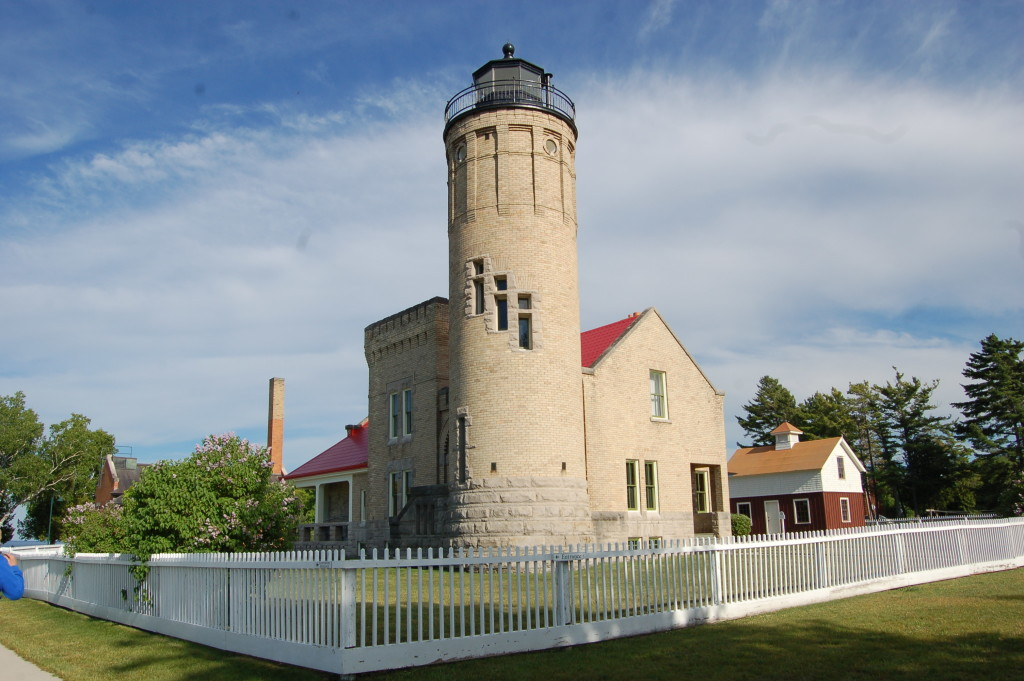 Old Mackinac Point Lighthouse Corner