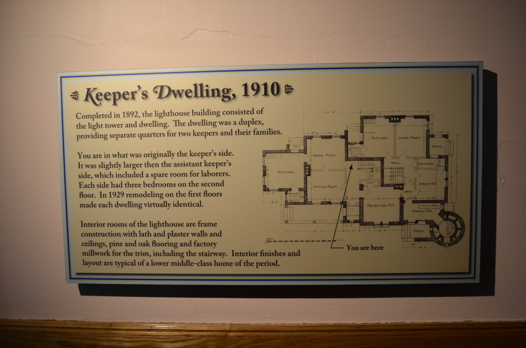 Old Mackinac Point Lighthouse Keepers Dwelling Blueprints