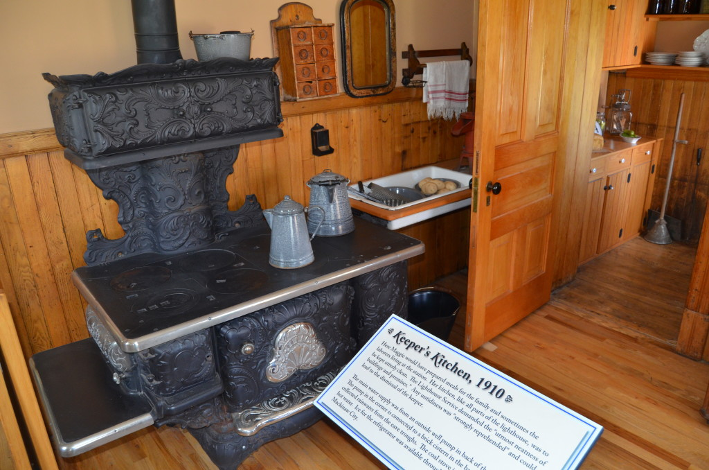 Old Mackinac Point Lighthouse Kitchen