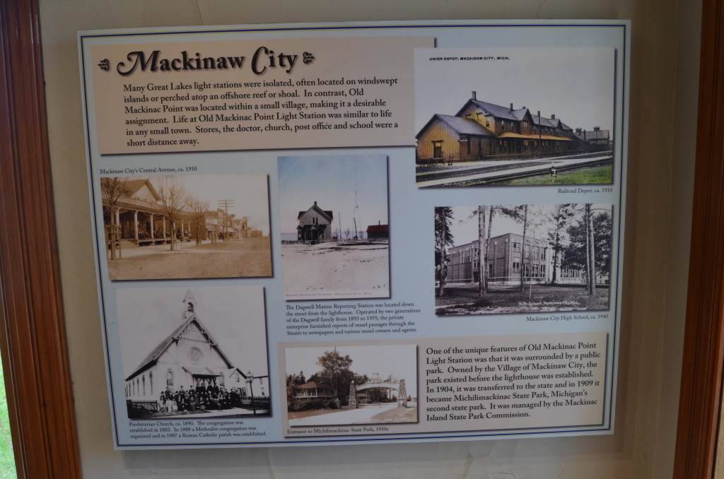 Old Mackinac Point Lighthouse Mackinaw City Information