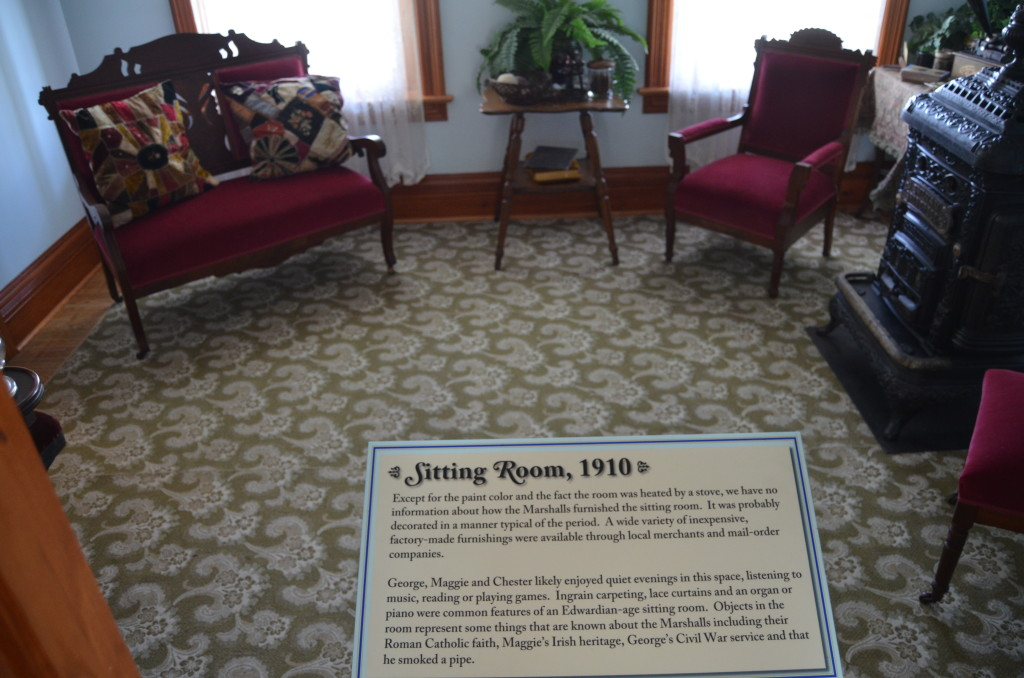 Old Mackinac Point Lighthouse Sitting Room Museum