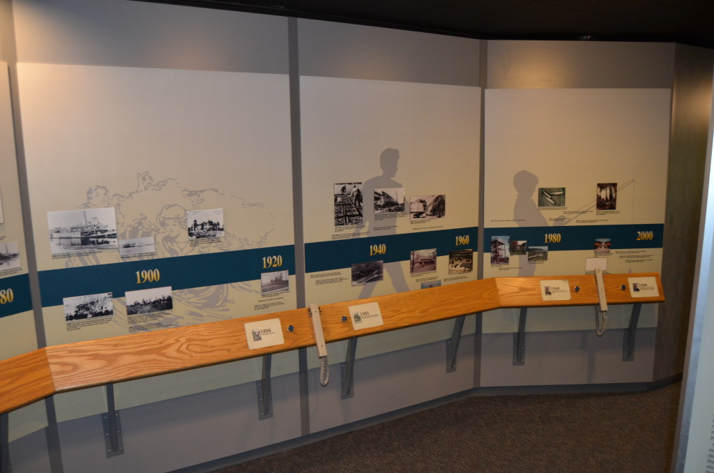 Bay City State Park Visitor Center Interpretive Display