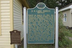 Conveying Michigan White Pigeon Land Office Michigan Legal Milestones
