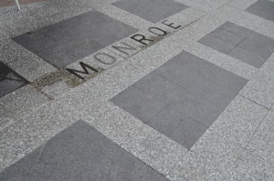 Detroit Point of Origin Michgan Monroe Street Layout