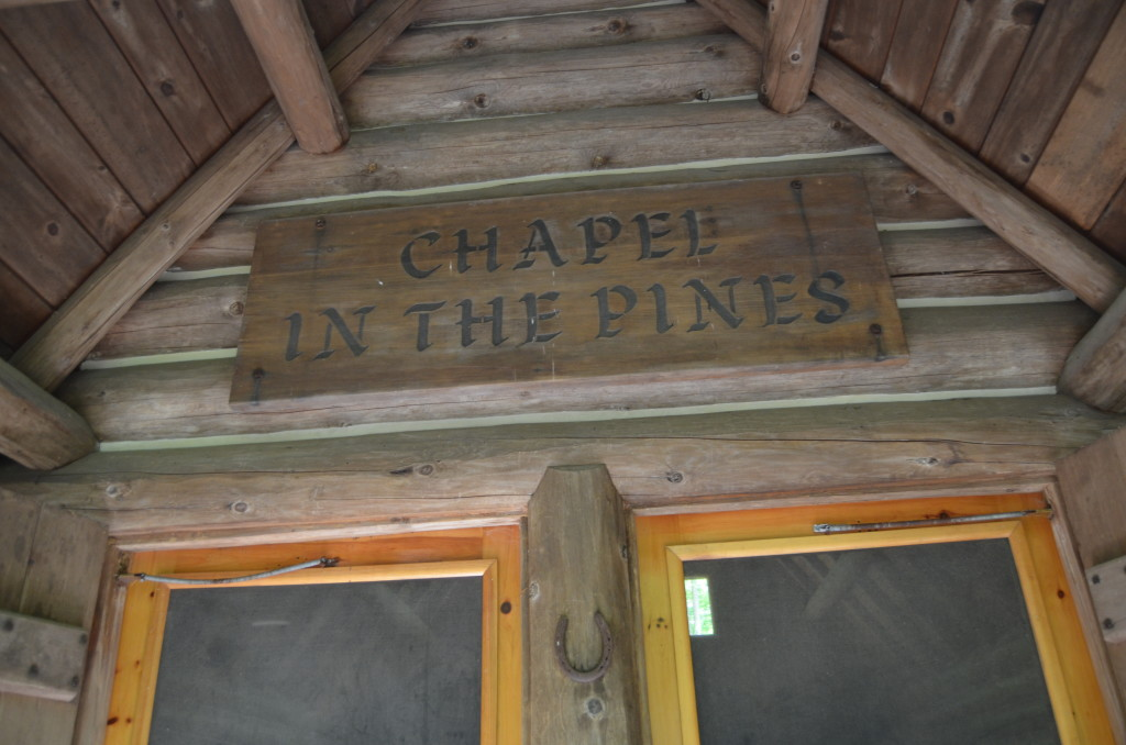 Hartwick Pines State Park Chapel in the Pines Entrance