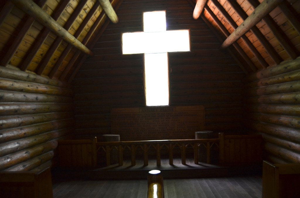Hartwick Pines State Park Chapel in the Pines Interior
