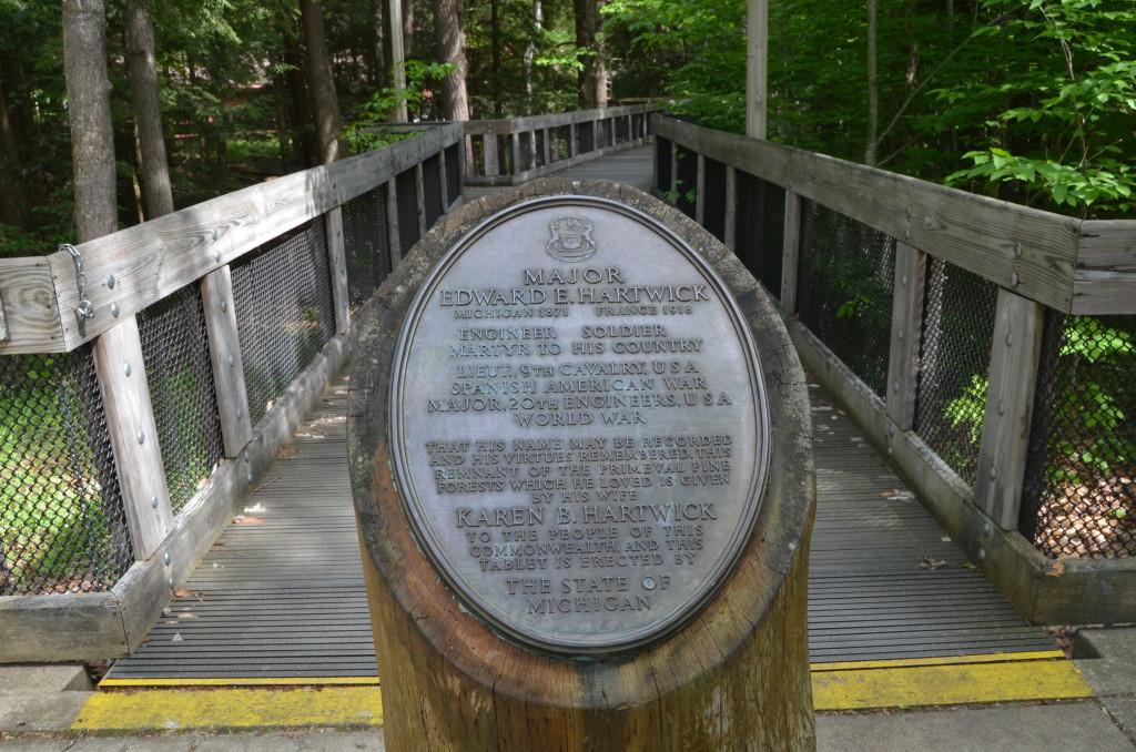 Hartwick Pines State Park Edward Hartwick Memorial