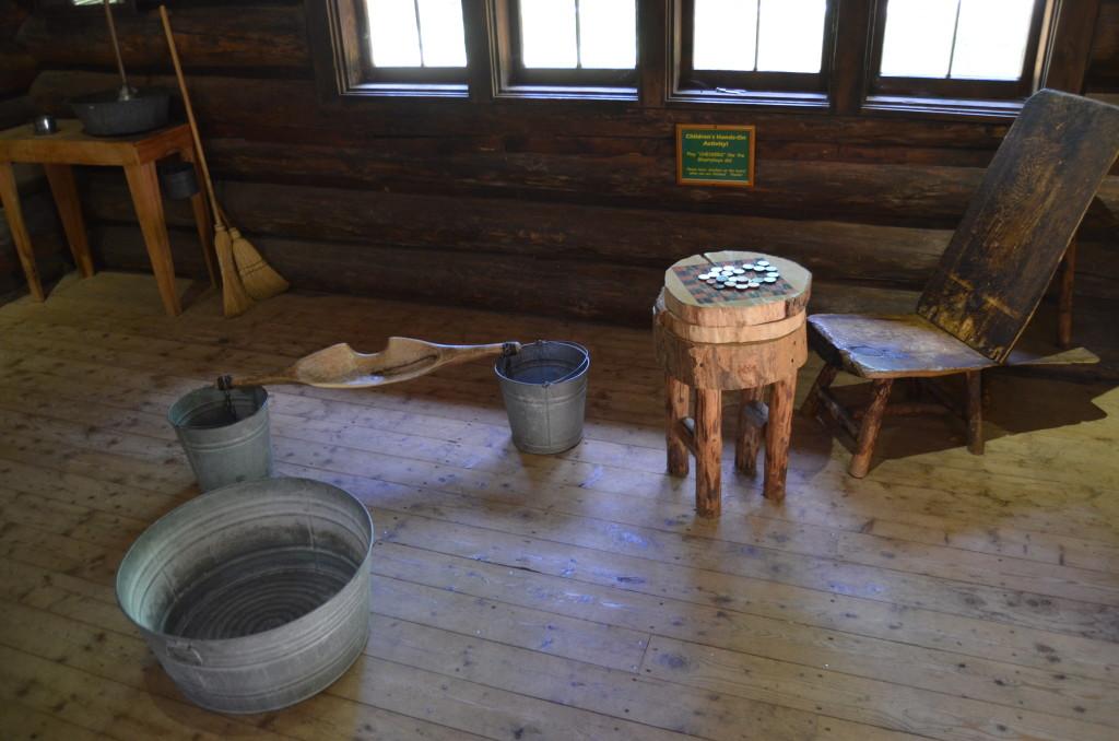 Hartwick Pines State Park Loggin Museum Cabin