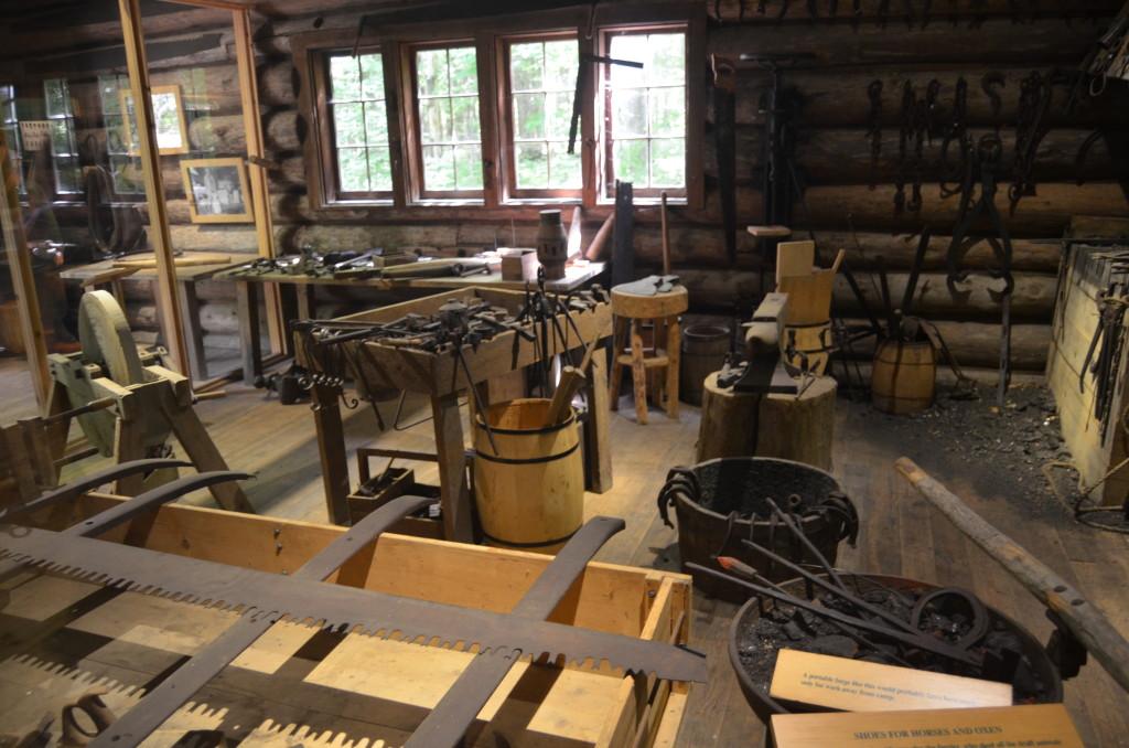 Hartwick Pines State Park Loggin Museum Inside Cabin