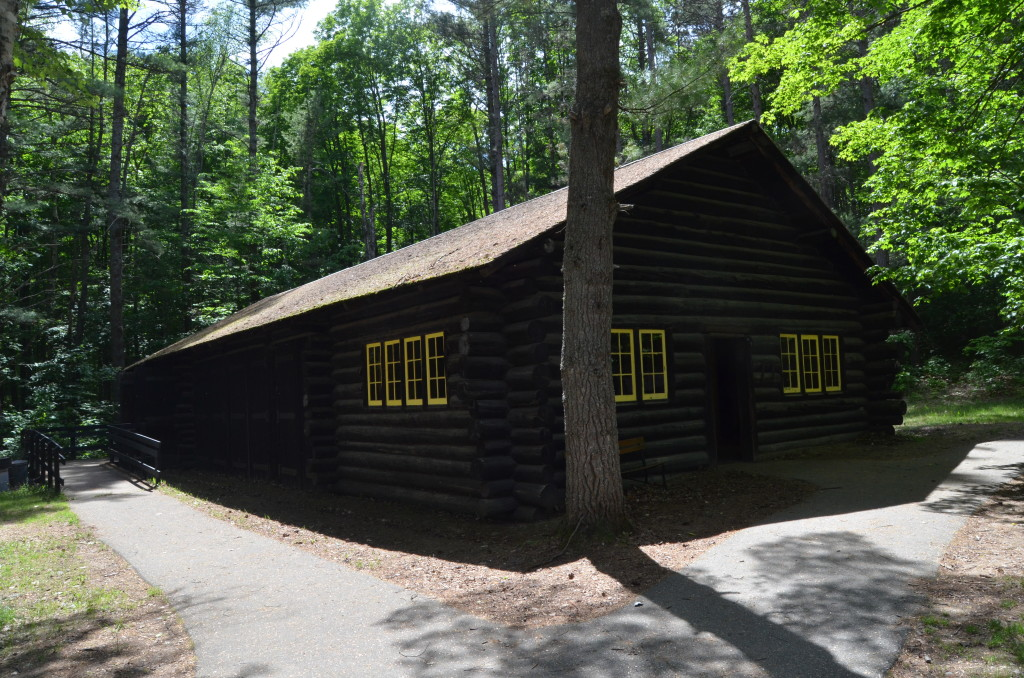 Hartwick Pines State Park Logging Museum Cabin Exterior