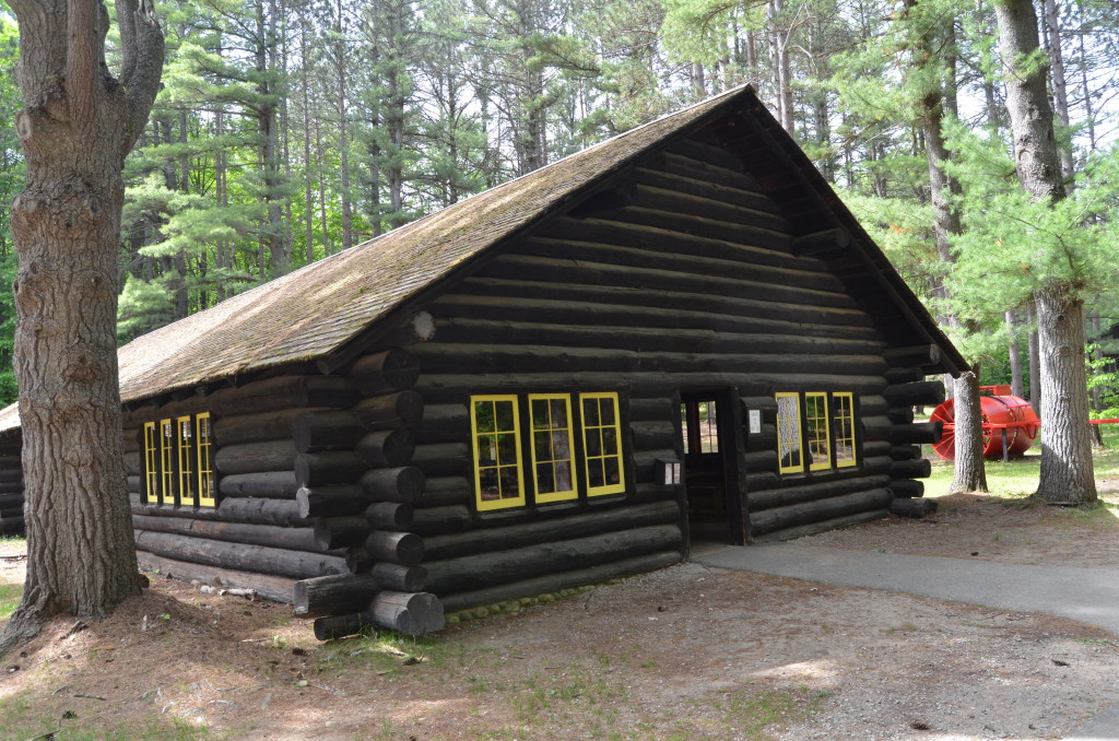 Hartwick Pines State Park Museum Cabin Exhibit
