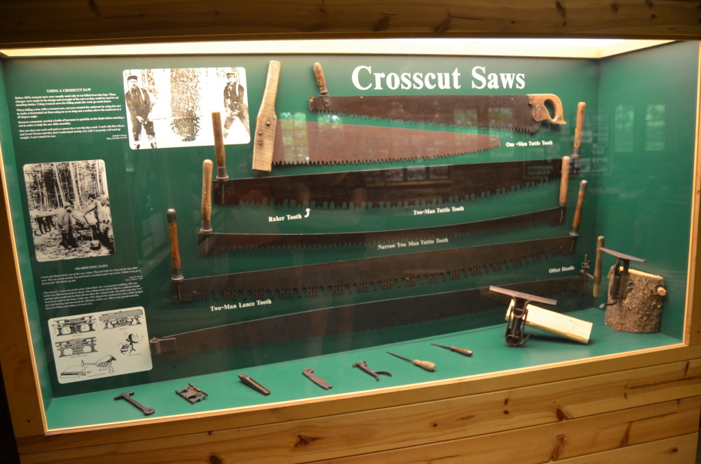 Hartwick Pines State Park Museum Crosscut Saws