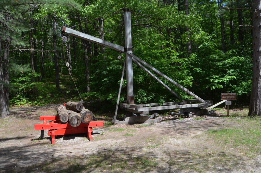 Hartwick Pines State Park Museum Log Lifter