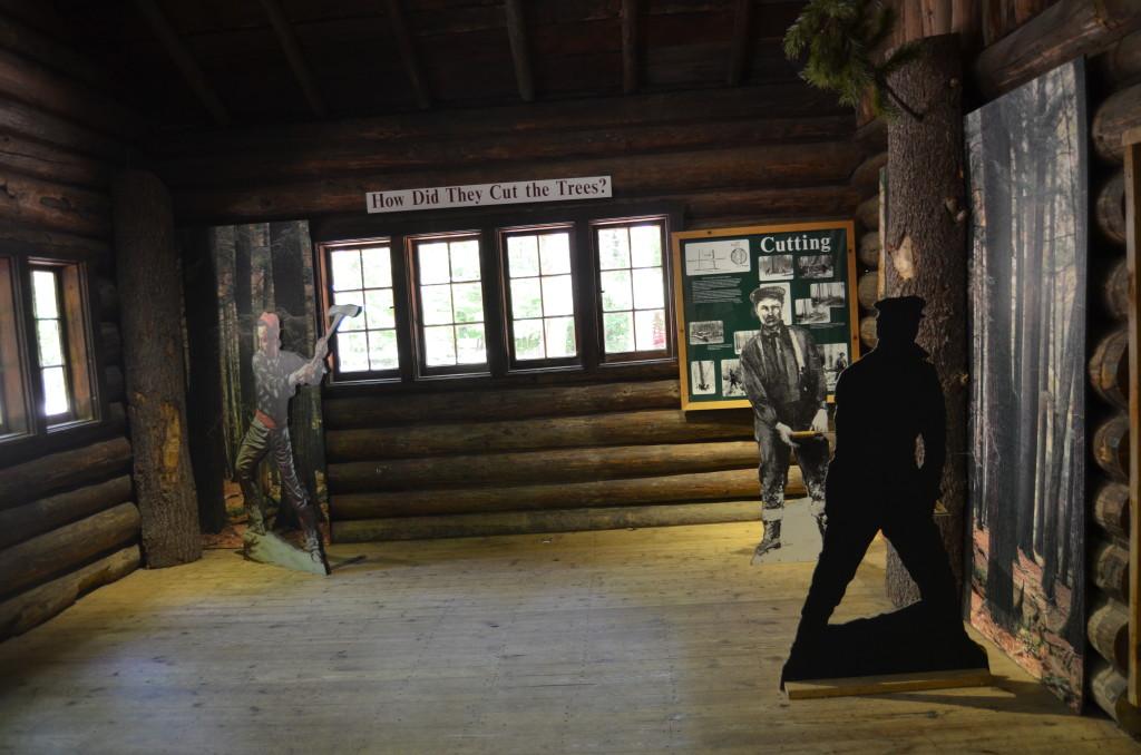 Hartwick Pines State Park Museum Michigan Logging Tools