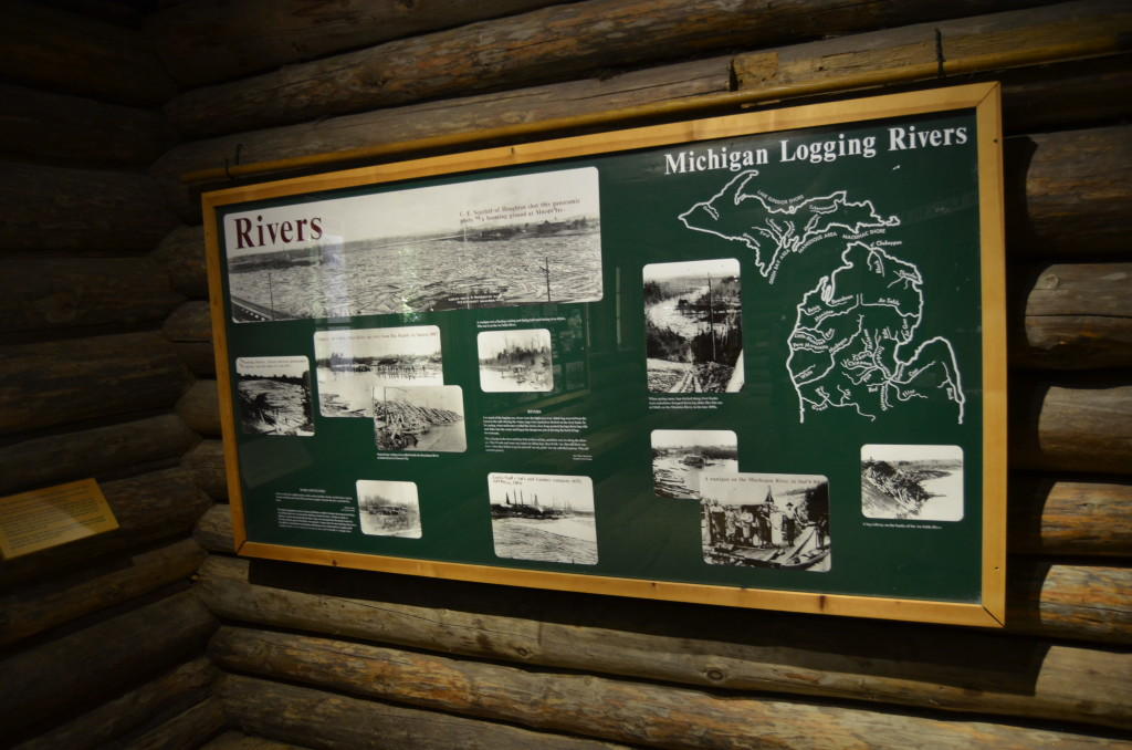 Hartwick Pines State Park Museum Michigan Rivers
