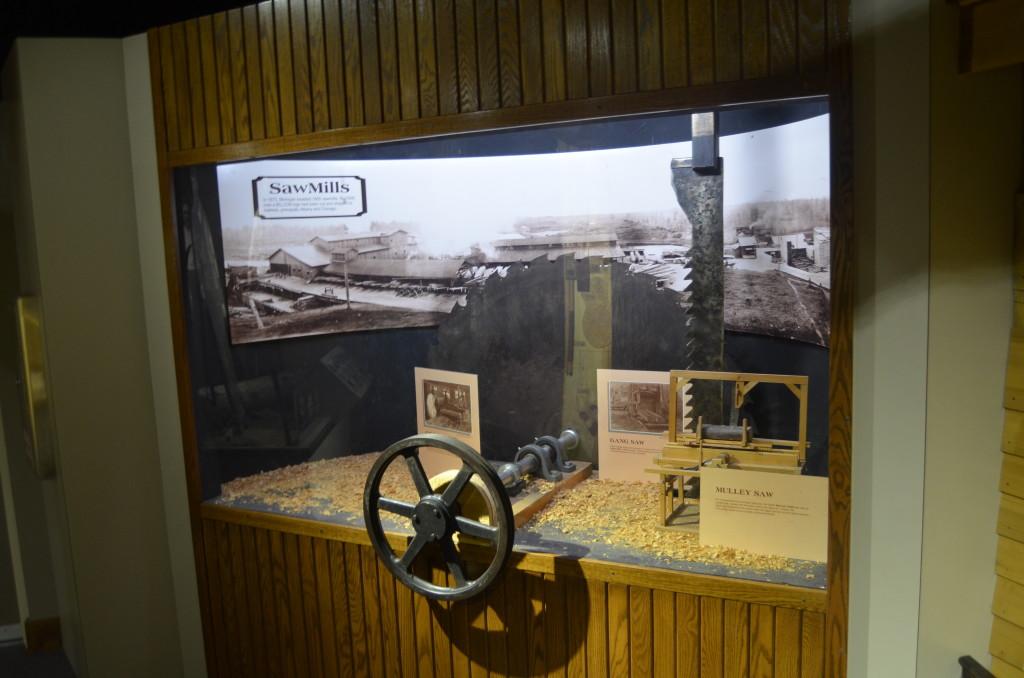 Hartwick Pines State Park Sawmills Display