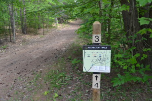 Hartwick Pines State Park Trail Map