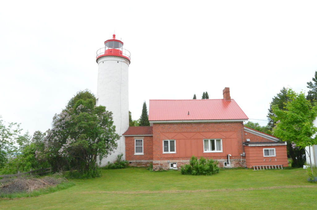 Jacobsville Lighthouse Feature Photo Keweenaw Michigan