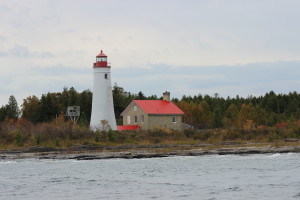 Thunder Bay Island Lighthouse Alpena Michigan Keepers Quarters