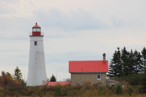 Thunder Bay Island Lighthouse Michigan Lake Huron