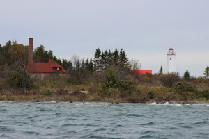 Thunder Bay Island Lighthouse With Fog Signal Building