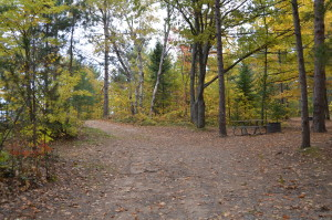 Whitefish Bay Scenic Byway Bay View Campground