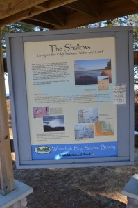 Whitefish Bay Scenic Byway The Shallows Informational Sign