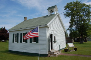 Eagle Harbor Rathbone School Keweenaw Michigan