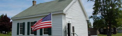 Michigan Roadside Attractions: Rathbone School, Eagle Harbor