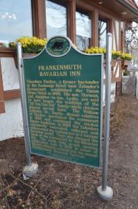 Frankenmuth Bavarian Inn Historical Marker