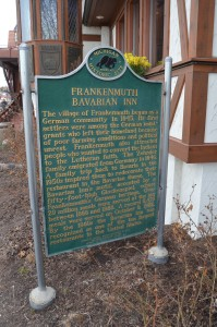 Frankenmuth Bavarian Inn Michigan Historical Marker 2