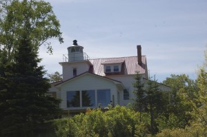 Eagle River Lighthouse Michigan Vacation Rental