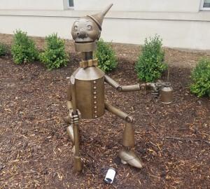 Wizard of Oz holland Michigan Tin Man